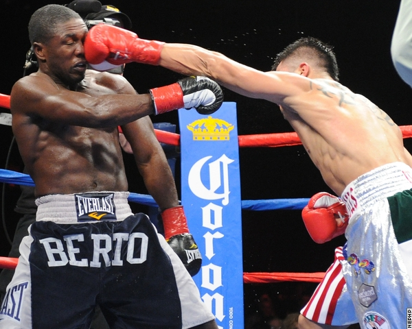 Food for thought as Andre Berto enlists Victor Conte